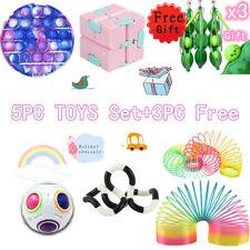 5+3 Stück Sensory Fidget Toys Set Stressabbau- und Anti-Angst-Spielzeug für ADHS