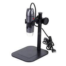 20-800X 8 LED USB Digital Microscope Endoscope Magnifier 0.3MP Video Camera W0YR