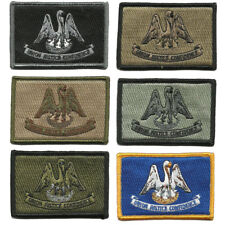 """BuckUp Tactical Patch Hook Louisiana Baton Rouge State Patches 3x2"""""""