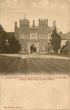 STOKE BY NAYLAND ( Suffolk) :  Gifford's Hall -MILLS & PALMER