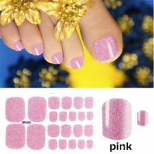 Fashion Toe Nail Art Stickers Summer Self Stick Wraps For Manicure Decoration
