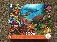 Ceaco - Turtle's Ocean Voyage - 1500 Piece Jigsaw Puzzle New Sealed