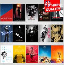 Cannes Film Festival International Movie Event 2005-2019 Poster | A4 A3 A2 A1 |