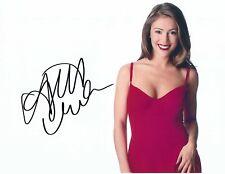 ALYSSA MILANO Autographed 8.5 x 11 Signed Photo HOLO COA