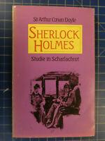 Sir Arthur Conan Doyle- SHERLOCK HOLMES 1990 -Studie in Scharlachrot H-3722
