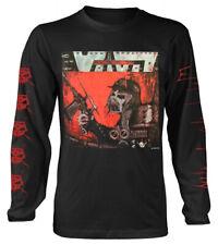 Voivod 'War & Pain' (Black) LS Shirt - NEW & OFFICIAL!