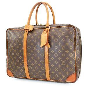 Authentic LOUIS VUITTON Sirius 45 Monogram Suitcase Travel Business Bag #40116