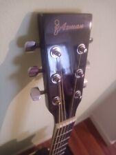 Axman E-Gitarre Schwarz