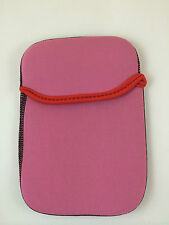 "FUNDA DE NEOPRENO 9"" PULGADAS PARA TABLET EBOOK COLOR ROSA"