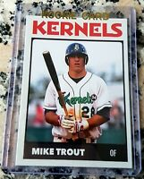 MIKE TROUT 2010 Cedar Rapids SP Rookie Card RC HOT Los Angeles Angels ROY AS MVP