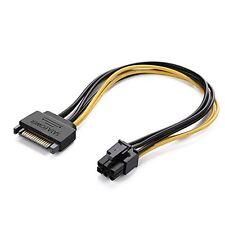 Grafica di alimentazione SATA scheda video a 6 Pin Cavo Di Alimentazione Maschio Piombo Filo PCI Express