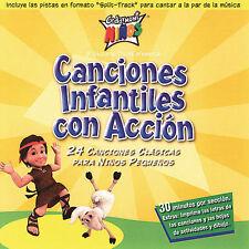 Infantiles Con Accion by Cedarmont Kids (CD, Apr-2006, Provident Music) NEW
