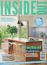 INSIDE OUT AUSTRALIAN MAGAZINE MARCH 2013, 60+PAGES OF KITCHEN & BATHROOM IDEAS.