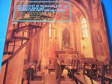 LP BACH MAGNIFICAT IN RE MAGG. BWV 243 CANTATA BWV 140 ELISABETH GRUMMER