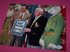 CARTOON COMIC MORT WALKER Signed BEETLE BAILEY 8x10 Photo JSA CERTIFICATION