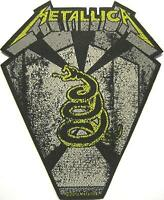 "METALLICA PATCH / AUFNÄHER # 45 ""BLACK ALBUM"""