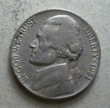 *1951-S*   Jefferson Nickel   Scarce   scarce    free shipping