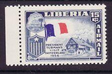 Liberia # C116 ERROR French Flag EFO Switzerland France