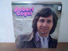 """RARE - LP 12"""" ROBERT COGOI - Maman bonheur - NM/EX - PHILIPS 6443 013 - HOLLAND"""