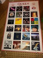 "Queen ""Album History Collage� 24x36 Uk Poster_Freddie Mercury_Brian May"