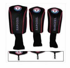 TEXAS RANGERS GOLF HEADCOVERS SET- IDEAL FATHERS DAY/BDAY/CHRISTMAS GIFT