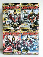 Bandai Power Rangers Mega Force Goseiger Gosei Ground All 4 set Minipura Japan