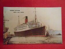 Carte postale marine bateaux original raymond-whitcomb North Cape Cruise