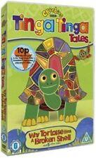 Tinga Tales Why Tortoise Has a Broken Shell DVD Region 2 Discs 1 an