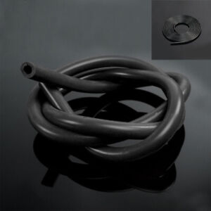 1M Silicone Black Full Silicone Fuel/Air Vacuum Hose/Line/Pipe/Tube Accessories