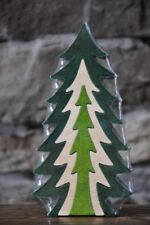 Small Pine 3D Wooden Christmas Tree Wood Puzzle Toy Amish Made in the Usa
