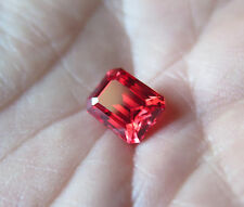 SAPHIR VERNEUIL PADPARADSCHA 8X6mm TRANSPARENCE IF