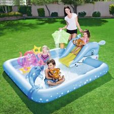 Children Playing Pool Baby Inflatable Square Swimming Pool Thickening Plastic Ga