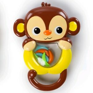 Bright Starts Shakin Safari Rattles For Babies 3 months and older (Brand New)