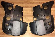 95-03 SAAB 900 9-3 Tonneau Flap Covers Pair Gray Convertible Left & Right OEM