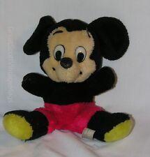 "New listing Vintage Walt Disney Disneyland Mickey Mouse Plush Doll Toy Korea 10"" Tall"