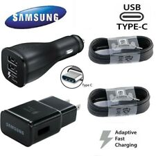 For Original Samsung Galaxy Note10 S8 S9 S10 Plus Fast Wall Charger Type-C Cable