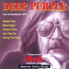 DEEP PURPLE- Live In Stockholm 1970 LIVE CD Italy 1991 Remastered