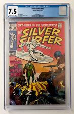SILVER SURFER #10 CGC 7.5  1969 MARVEL