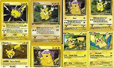 Lot of 14*_  Mint Assorted Random Pikachu Commons uncommon Pokemon_Cards