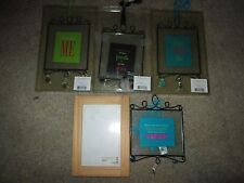 Seasons Of Cannon Falls Holiday Ornaments - Lot Of 4 Plus Bonus Picture Frame
