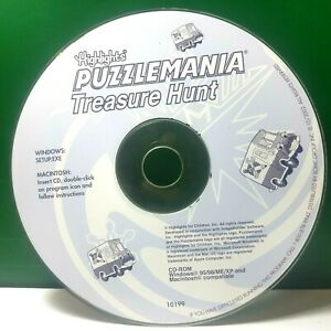 Highlights Puzzle Mania Treasure Hunt (PC) Disc Only #41161
