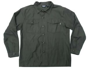 UNDEFEATED OFFICIAL XL EXPECT NO MERCY MILITARY SHIRT JAC JACKET 100%COTTON WOW