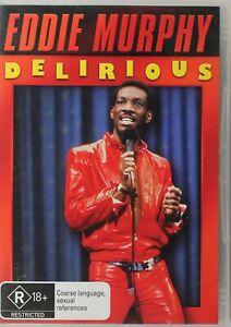 Eddie Murphy - Delirious DVD - Free Post