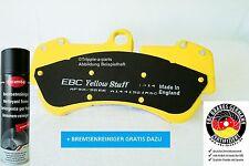 EBC Yellowstuff DP41483R PASTILLAS DE FRENO DELANTERO con contactos Advertencia