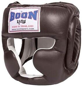 BOON  HEADGEAR GUARDS HGS FULL COVERAGE M L XL MUAY THAI PROTECTION  MMA K1