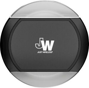 Just Wireless - Qi Wireless Charging Pad for iPhone X/8, Galaxy S8, Note 8