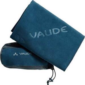 Vaude Handtuch Comfort Towel M / blau, Outdoor, Reisen, Wandern  60 x 90 cm