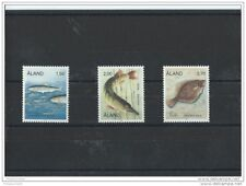 LOT : 122015/496A - ALAND 1990 - YT N° 38/40 NEUF SANS CHARNIERE ** (MNH) GOMME