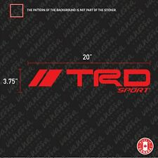 2X TRD SPORT TOYOTA LOGO sticker vinyl decal