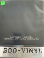"ULTRAVOX  - DOUBLE G/f SLOW MOTION QUIET MEN - 7"" Vinyl Record : EX"